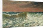 La Vague, 1872 by Gustave Courbet