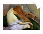Woman Combing Her Hair, 1897 by Wladislaw Slewinski