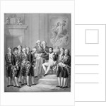 Napoleon Granting the Constitution to the Duchy of Warsaw, 1843 by Franz Seraph Hanfstaengel