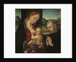 Madonna feeding the Christ Child, c.1500-30 by Ambrogio Borgognone