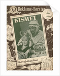 Advertisement for the film Kismet by German Photographer