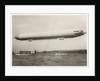 The Zeppelin LZ3 in flight, Friedrichshafen, between 1906-7 by German Photographer