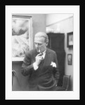 Portrait of German writer Hanns Heinz Ewers by German Photographer