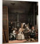 Las Meninas or The Family of Philip IV, c 1656 by Diego Rodriguez de Silva y Velazquez
