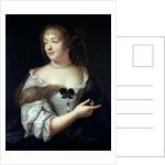 Portrait of Marie de Rabutin-Chantal, Madame de Sevigne by Claude Lefebvre