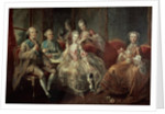 The Penthievre Family or The Cup of Chocolate by Jean Baptiste Charpentier
