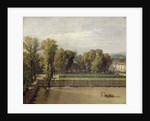 View of the Luxembourg Gardens in Paris by Jacques Louis David