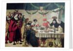 St. Thomas Aquinas and Louis IX by Niklaus Manuel