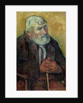 Portrait of an Old Man with a Stick by Paul Gauguin