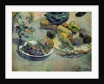 Still Life with Fruit by Paul Gauguin