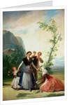 The Florists or Spring by Francisco Jose de Goya y Lucientes
