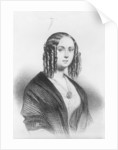 Louise Colet by French School