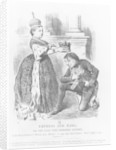 Disraeli given a peerage by Queen Victoria in 1876 by John Tenniel