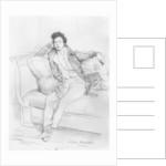 Portrait of Alexandre Dumas, Père by Achille Deveria