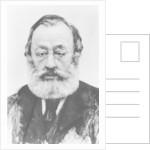 Portrait of Gottfried Keller by Karl Stauffer-Bern