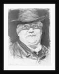 Portrait of Conrad Ferdinand Meyer by Karl Stauffer-Bern