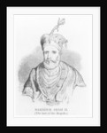 Bahadur Shah II by English School