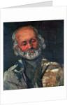 Head of an Old Man by Paul Cezanne