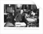 Joseph Caillaux speaking on the radio in 1925 by French Photographer