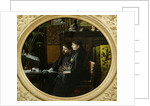 Alphonse Daudet and his Wife in their Study by Louis Montegut