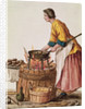 Venetian Doughnut Seller by Jan van Grevenbroeck
