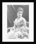 Portrait of Blanche Adeline Pierson by J. E. Tourtin