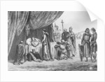 Death of Louis IX in 1270 by French School