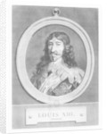 Louis XIII, King of France by French School
