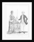 Marquis de La Fayette by French School