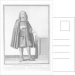 Claude Le Peletier by Nicolas Bonnart