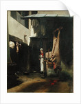 The Butcher by Francois Bonvin