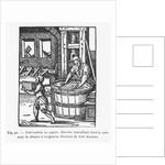 The Paper Maker by Jost Amman