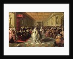 Ball at the Court of Henri III on the Occasion of the Marriage of Anne, Duke of Joyeuse, to Marguerite de Vaudemont by French School