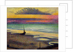 The Beach at Heist by Georges Lemmen