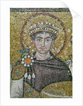 Emperor Justinian I by Byzantine School