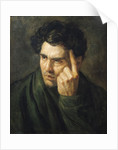 Portrait of Lord Byron by Theodore Gericault