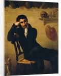 Portrait of an Artist in his Studio by Theodore Gericault