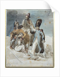 Episode from Napoleon's Retreat from Russia in by Theodore Gericault