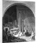 Dominique Vivant Denon cataloguing the Louvre Collection by Benjamin Zix