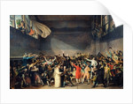 The Tennis Court Oath, 20th June 1789 by Jacques Louis David