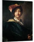 Self Portrait in a Turban by Hyacinthe Francois Rigaud
