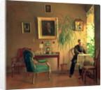 Interior by Aleksei Alekseevich Bobrov