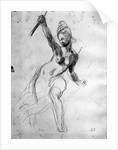 Female Nude, study for Liberty Leading the People by Ferdinand Victor Eugene Delacroix