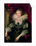 Portrait of Anne of Austria Infanta of Spain, Queen of France and Navarre by Peter Paul Rubens