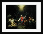 St. Genevieve Protecting the Ill by Francois Verdier