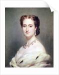 Portrait of the Empress Eugenie by Franz Xaver Winterhalter