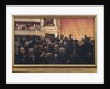 First Night at the Comedie Francaise in 1885 by Edouard-Joseph Dantan