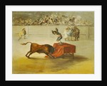 Martincho's Other Folly in the Bull Ring at Saragossa, after a painting by Francisco Goya by Eugenio Lucas y Padilla
