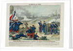 Defeat of the Rebels Entrenched in the Cemetery of Pere Lachaise and on Chaumont Hill by Charles Francois Pinot