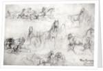 Study of Horses by Rosa Bonheur